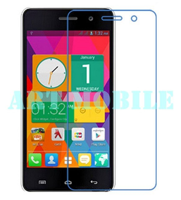New 10pcs/lot wholesale High Clear LCD Front Screen Protector Film For Micromax A106 Protective Film Free Shipping