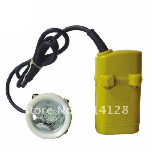 KL4LM(A) LED Mining Light Begin Lighting 3000 Lx With professional li-ion battery charger free shipping