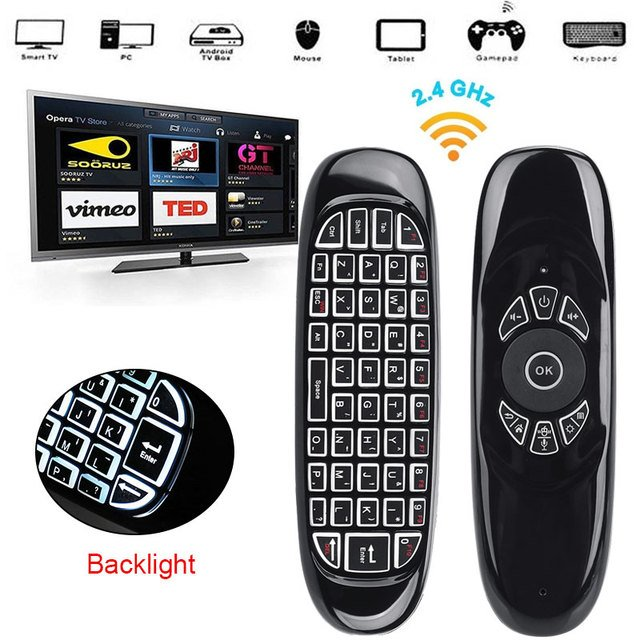 New Voice Control Edition 2.4GHz Wireless Keyboard Air Mouse Teclado Touchpad Pocket PC for Android TV BOX PC