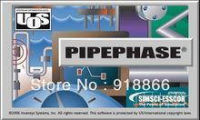 English version fully functional Invensys SimSci PIPEphase 9.5 support Win 7