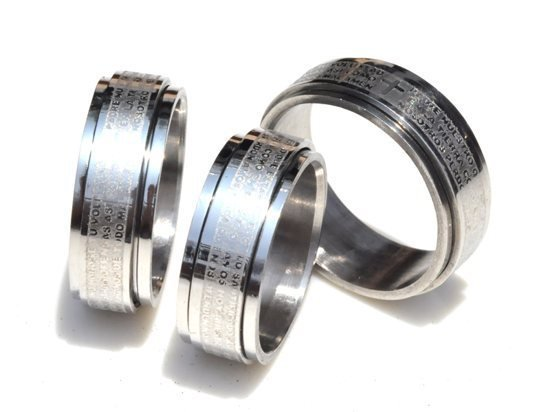 36X wholesale lots cross rings stainless steel rings fashion rings for men wedding rings free shipping