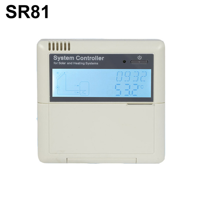 Intelligent Split Solar Water Heater Controller Anti-dry Heating SR81 Control Pump or 3-Way Electromagnetic Valves