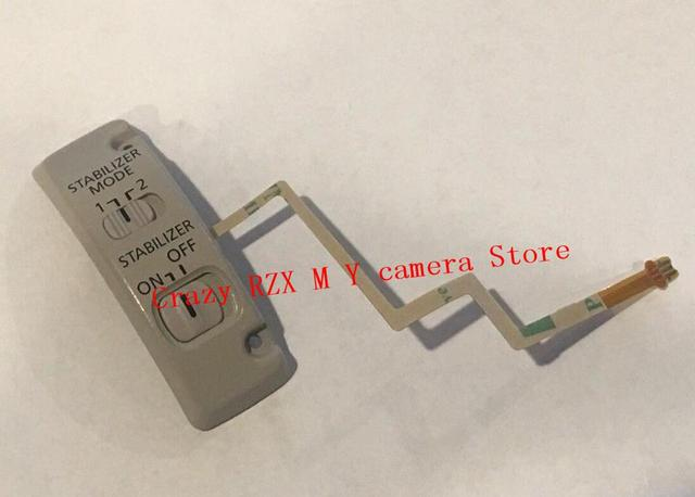 NEW For Canon EF 100-400MM F/4.5-5.6 L IS USM Lens Stabilizer Switch Panel Ribbon Cable Flex Control Ass'y Repair Parts