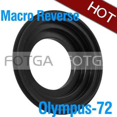 72mm Macro Reverse Adapter Ring for Olympus 43 OM4/3 4/3 E510 E520 E620 E500 E1