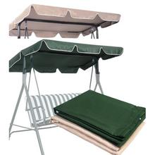 Garden Swing Chair Awning Waterproof Top Cover Canopy Dustproof Dust Cover For Garden Courtyard Ourdoor Swing Chair Canopy