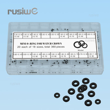 Watch Accessories Crown Gaskets Kit 50101 Precision Watch Crown Waterproof O-ring Rubber  Watch Parts