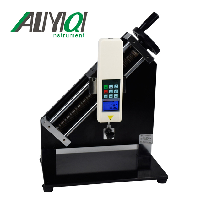 ABL-90 500N Vertical peel-off force test stand without digital force gauge test stand wooden case