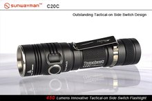 SUNWAYMAN C20C Tomahawk Cree XM-L U2 LED 18650 Flashlight
