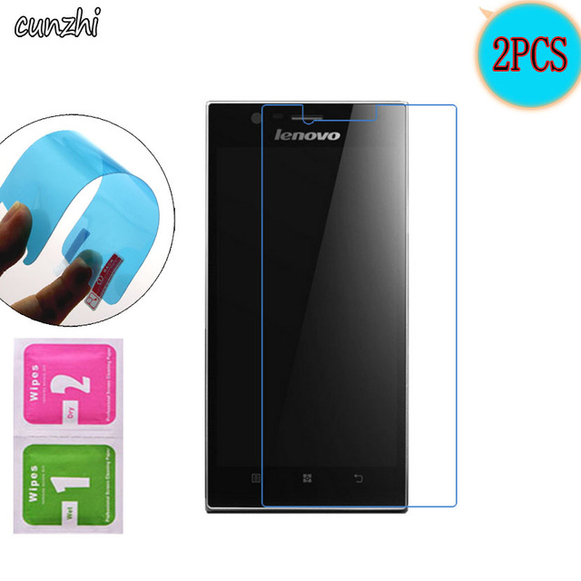 2PCS  Ultra Clear Soft TPU Nano-coated Tempered Explosion proof Screen Protector Film For Lenovo k900