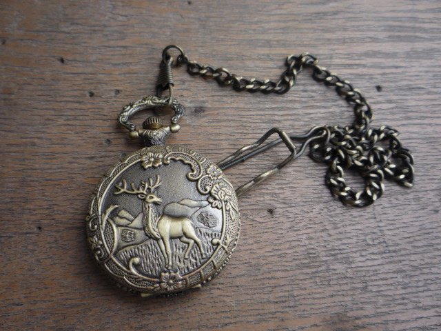 Rare Old Qing Dynasty royal BRASS GLASS  clock\ mechanical Pocket watch, can work,with  cover& mark,Free shipping