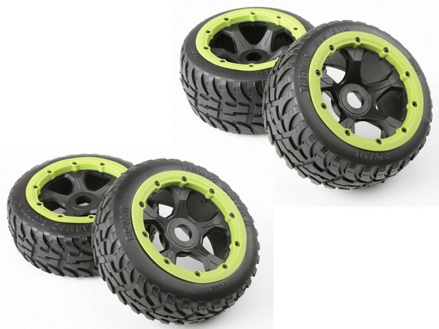 Road tire assembly New tire pattern for ROVAN KM HPI BAJA 5B