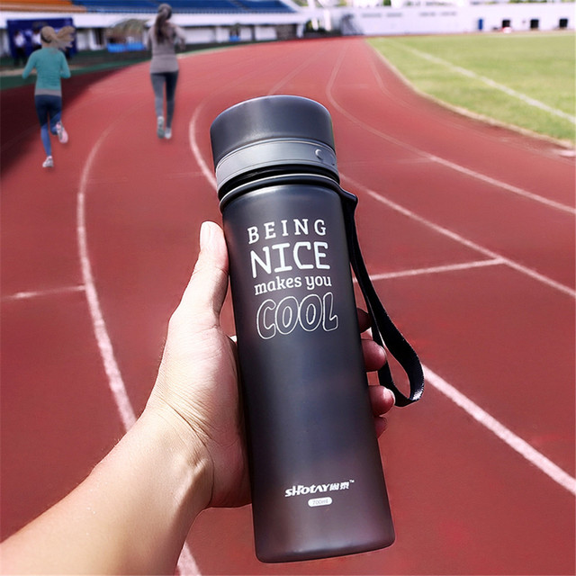700ML My Water Bottle Sport Bike Cycling Water Bottles For Water Portable Tea Infuser Plastic Tumbler B1985