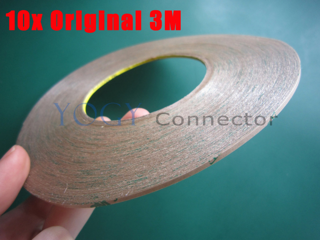 10x 2mm*55M*0.17mm 3M 300LSE Transparent Two Sides Ultra Adhesive Tape for Phone Frame Case Display, Waterproof