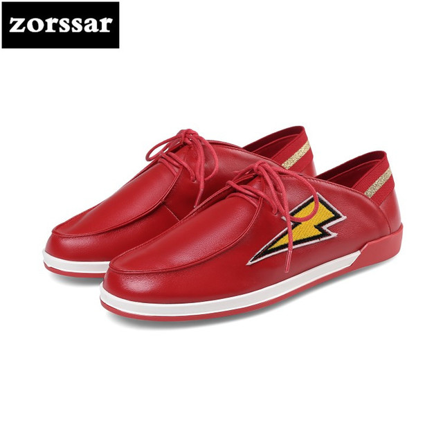 {Zorssar} 2018 New Comfortable soft Leather womens shoes casual flat shoes high quality Women sneakers Casual Flats walking shoe