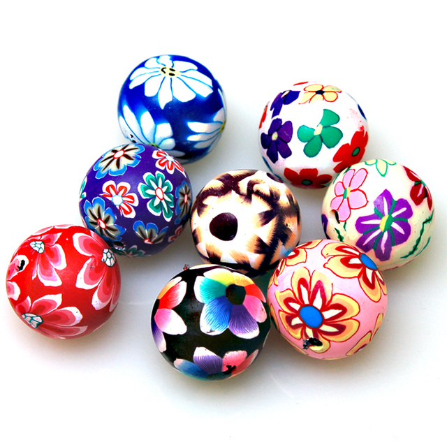 Handmade polymer clay beads,8mm round caly Beads Assorted polymer clay beads for jewelry Making Accessories
