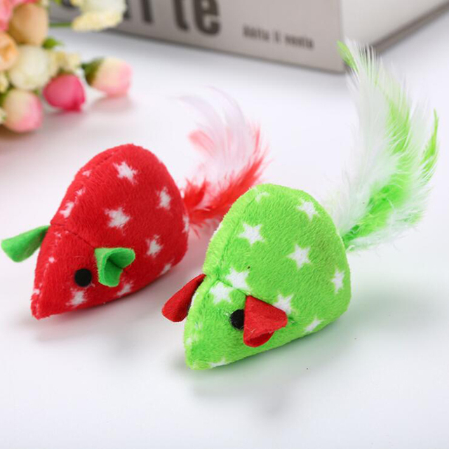Cloth Pets 1 Pc Mouse Funny Cute Colorful Catnip Toys Toys Pet Funny Toys Grinding