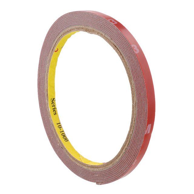 Useful Strong Permanent 3.0M Double Sided Sticky Adhesive Tape Truck Craft 6mm for home Portable Double Sided tape