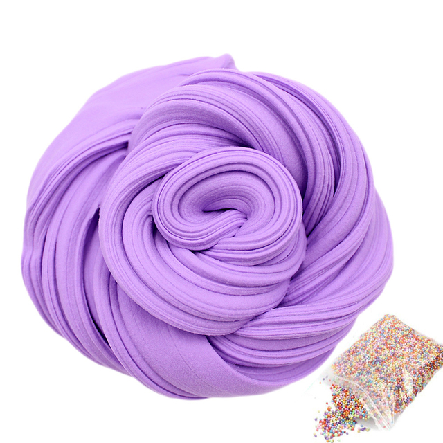 Diy Fluffy Foam Slime Clay Ball Supplies Light Soft Cotton Charms Slime Fruit Kit Cloud Craft Antistress Kids Toys For Children