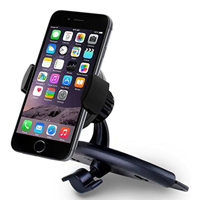 Car Phone Holder CD Slot Mount Holder for iPhone/Samsung/HTC/LG/Lenovo/Xiaomi/Meizu Mobile Phone Stand  Universal