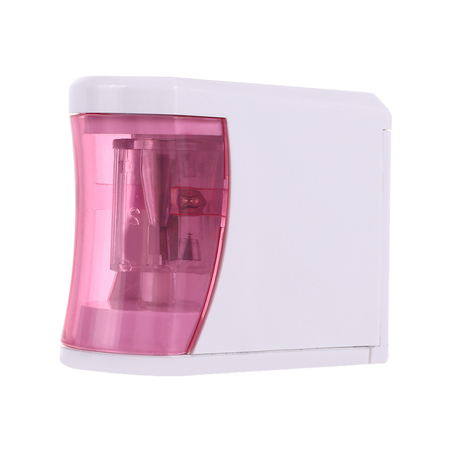 Electric Pencil Sharpener Sharpener Automatic Pencil Sharpener 2 AA Batteries Student Creactive Stationery Convenient