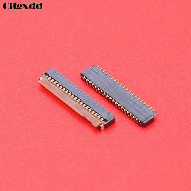 cltgxdd 39 pin FPC connector socket for xiaomi redmi note LCD display screen Connector Port on mainboard Repair Replacement part