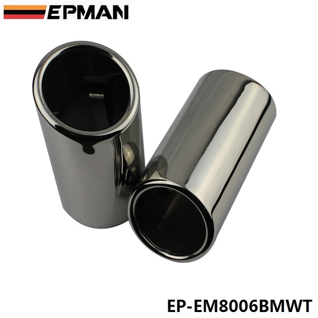Chrome 304 Stainless Steel Exhaust Muffler Tip For BMW 325i E90/F35/F30 EP-EM8006BMWT