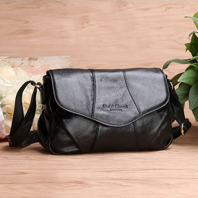 New Women Shoulder Bag Made Of Genuine Leather Ladies Satchel Real First Layer Cowhide Cross Body Designer Casual Messenger Bags