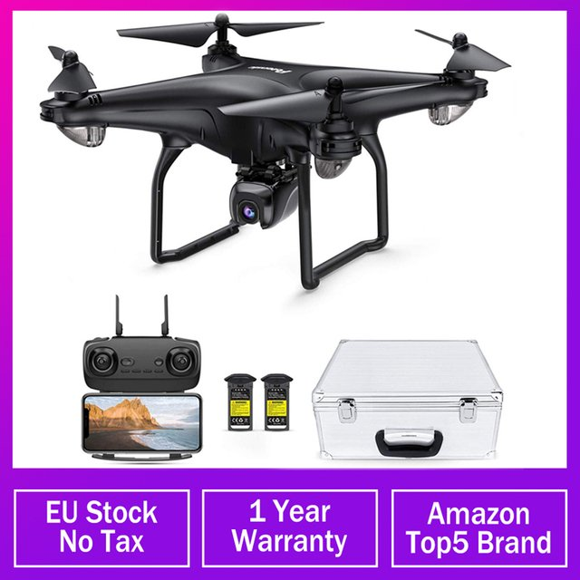 Potensic D58 GPS Drone 5G WIFI FPV With Wide Angle HD 1080P Camera Hight Hold Mode Arm RC Quadcopter Auto Return RTF Dron