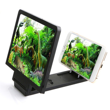HOT Mobile Phone Screen Amplifier Mini Mobile Phone Holder Foldable Cell Phone Holder Phone Stand cellphone while watching video