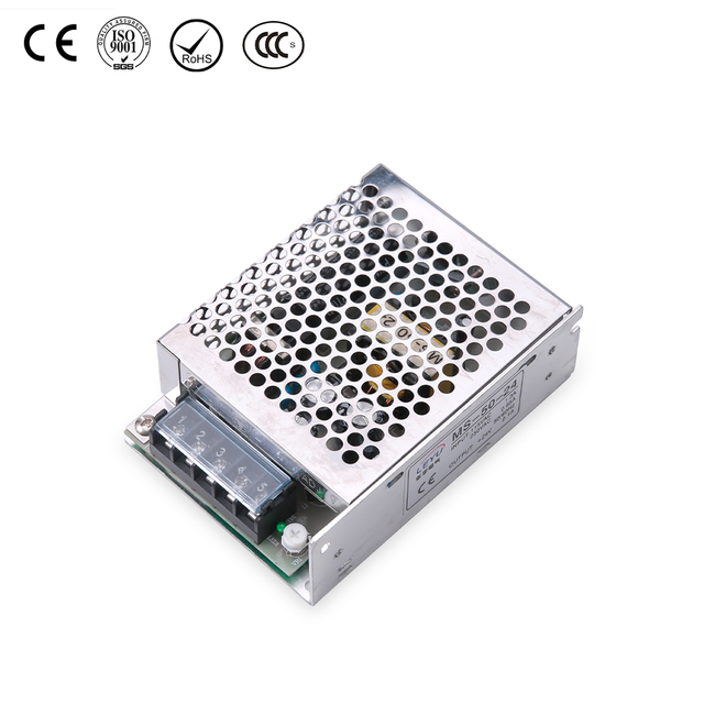 power supply single output 50w 24V smps MS-50-24 switching power supply
