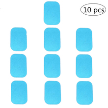 10pcs Hydrogel Gel Pads Slimming Massager Gel Sticker For ABS Abdominal EMS Trainer Weight Hip Muscle Stimulator Exerciser