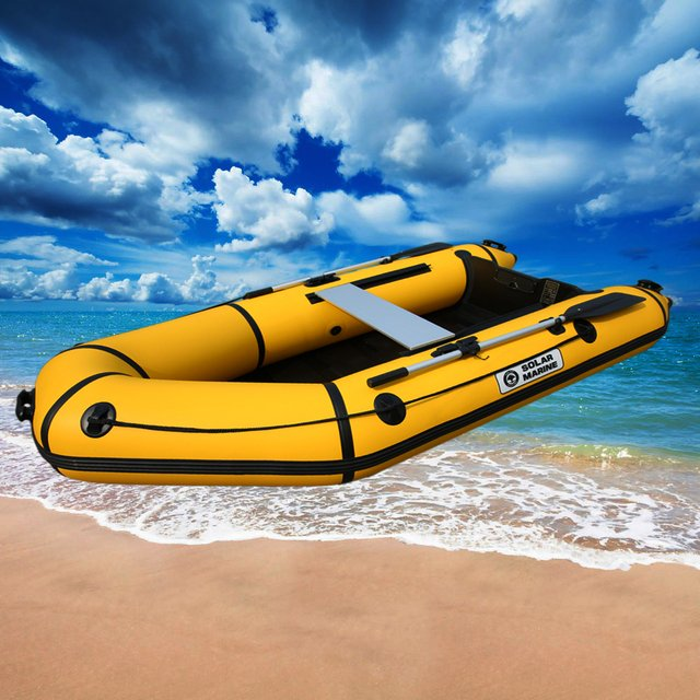 4 person 2.8M length PVC material professional inflatables boat fishing inflatable laminated wear resistan