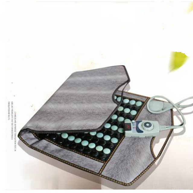 46*86 cm jade germanium physical therapy blanket tomalin electric heating physical therapy rheumatism drainage acid blanket sofa