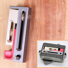 Woodworking Table Saw Gap Slot Regulator Slot Ruler Make The Mortise and Tenon Movable Measuring Block Length Compensation Tool