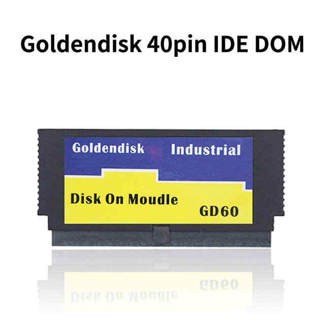 Goldendisk IDE DOM SSD MLC 40-Pin 2GB/4GB/8GB/16GB/32GB DOM SSD Disk On Module Industrial Flash Memory 40 Pins MLC