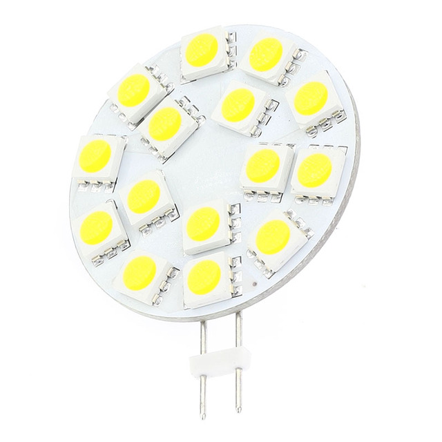 15LED G4 Light Dimmable Lamp  5050SMD 300-330LM  3W  12VAC 12VDC 24VAC 24VDC Marine Under Cabinet Bulb 20PCS/LOT