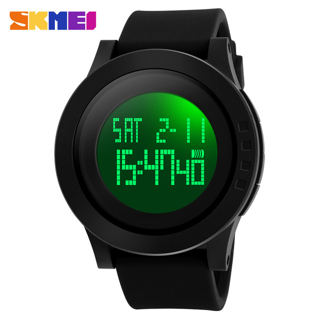 SKMEI Brand Watch Men Military Sports Watches Fashion Silicone Waterproof Digital Watch Male Clock Man Relogios Masculino 1142