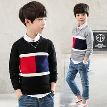 2019 Children's sweater for boys Children's clothing autumn Winter new Keep warm Kids  sweater pullover  cardigan 4-12 years