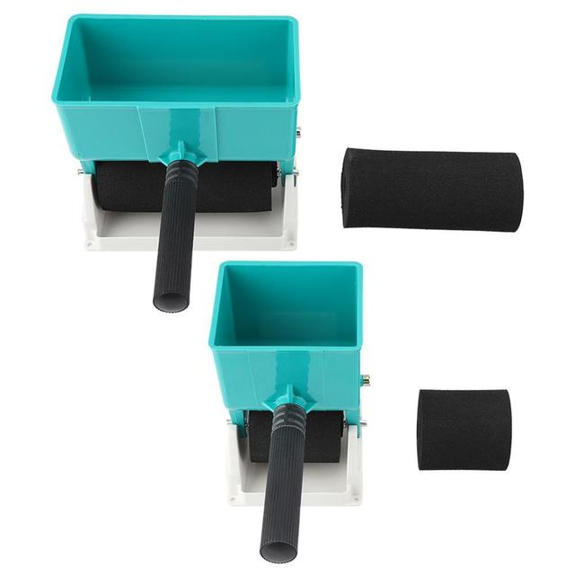 New 180mL/320mL Paint Buckets Portable Handheld Glue Applicator Roller Manual Gluer for Woodworking Paiting Tool