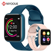 NIYOQUE P4 Smart Watch 1.4 Inch Full Screen Touch Heart Rate Blood Pressure Monitor Waterproof Fitness Tracker for Xiaomi Apple