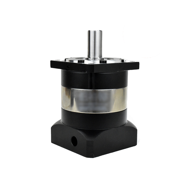 Planetary Reducer 90mm Flange 50:1 Speed Ratio 19MM  Input Shaft  Gearbox Reducer for 750W 1 KW Servo Stepper Motor CNC