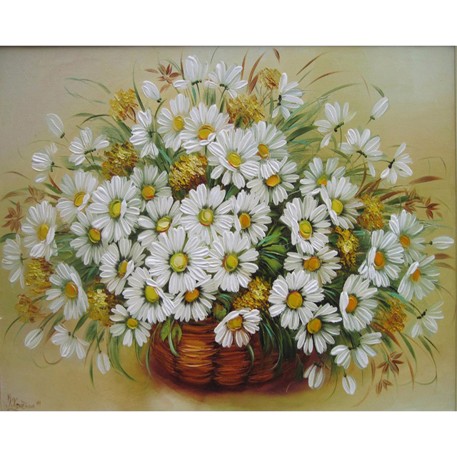 GATYZTORY 40x50cm painting by numbers Flowers pictures by numbers On Canvas Room Decoration Frameless DIY Digital Paint gift