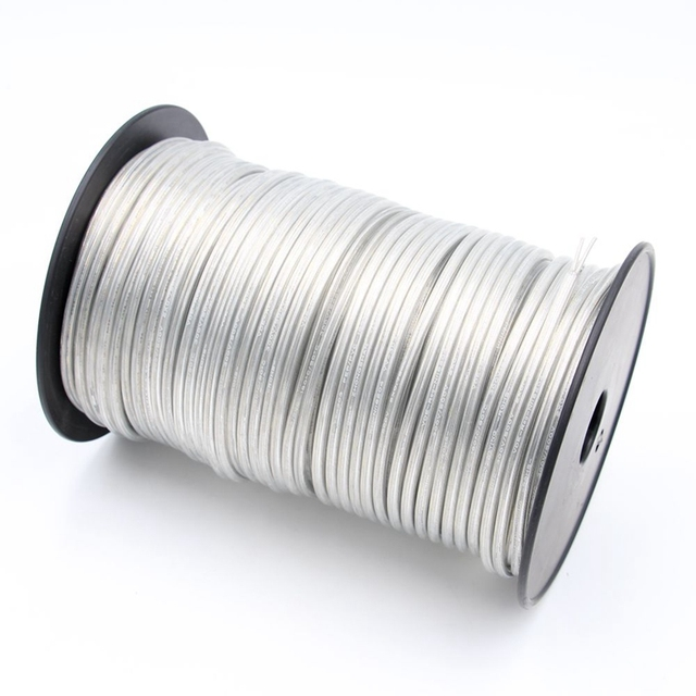 New Arrival Transparent Electrical Wire PVC Clear Round Cable 2 Core 3 Core 0.75mm2 Power Cords For Light Cord