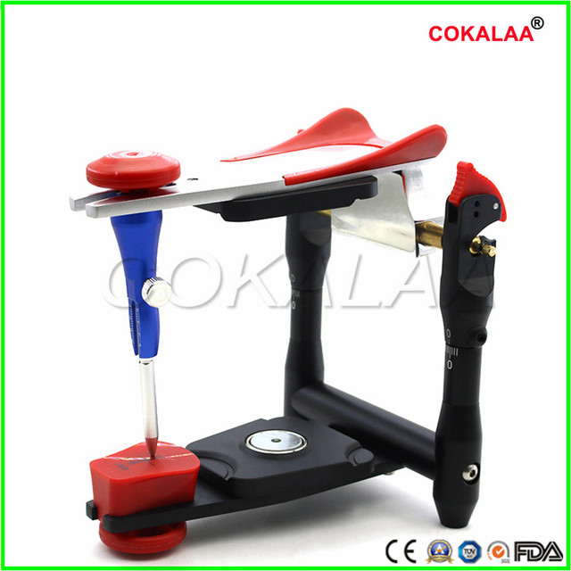 1 Pieces High-precision Dental Laboratory Equipment Big Size Articulators Adjustable Denture Magnetic Anatomic Articulator