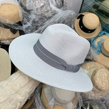 202003-YY077 new summer  handmade paper fedoras  cap men  women leisure panama JAZZ hat