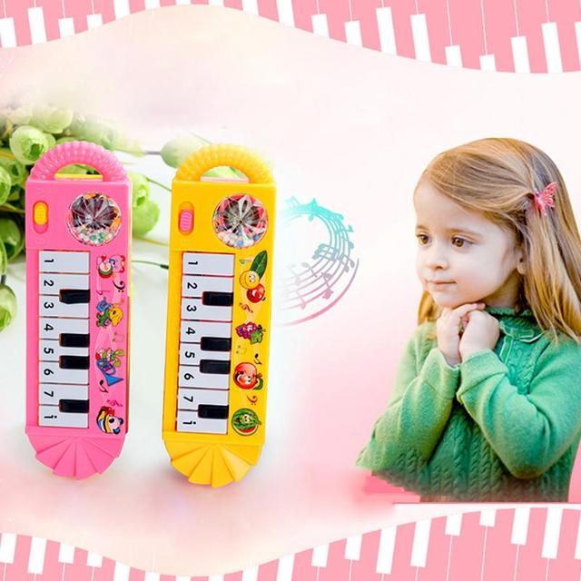 2019 Baby Piano Toy Infant Toddler Developmental Toy Plastic Kids Musical Piano Early Educational Toy Musical Instrument Gift