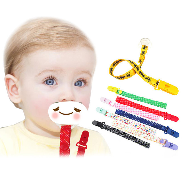 24 Colors Baby Pacifier Clip Chain Dummy Holder For Nipples Para Bebe Children Pacifier Clips Pacifier Holder