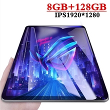 2019 New Google Play Android 9.0 OS 10.1 inch tablet Octa Core 6GB RAM 128GB ROM 2.5D Glass WIFI Tablets Dual SIM card 3G 4GLTE