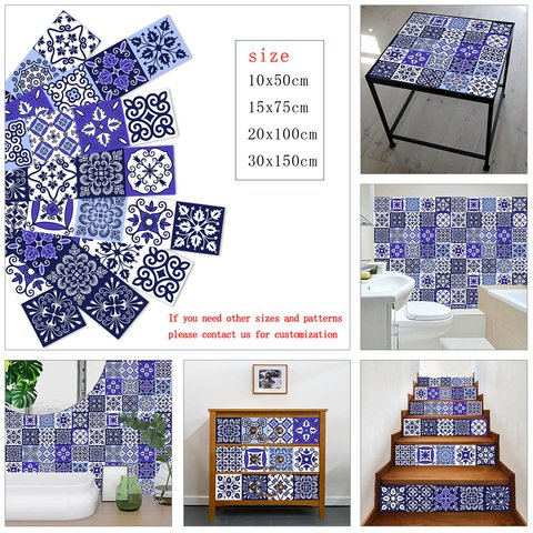 Floor Wall Decals Colorful Cups Kitchen Tiles Decals Peel /& Stick Tile Stickers Removable Backsplash Decor 9 Ceramic Tiles Stickers
