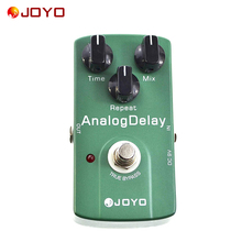 Joyo JF-33 Analog Delay Electric Guitar Effect Pedal True Bypass High Quality Guitar Pedal Guitar Accessories